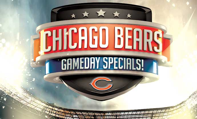 Chuck's Chicago Bears Game Day Specials