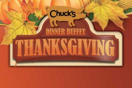 Chuck's Thanksgiving Buffet Dinner
