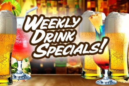 Chuck's Weekly Drink Specials