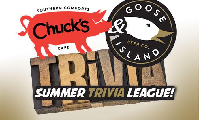 Chuck's & Goose Island Summer Trivia League