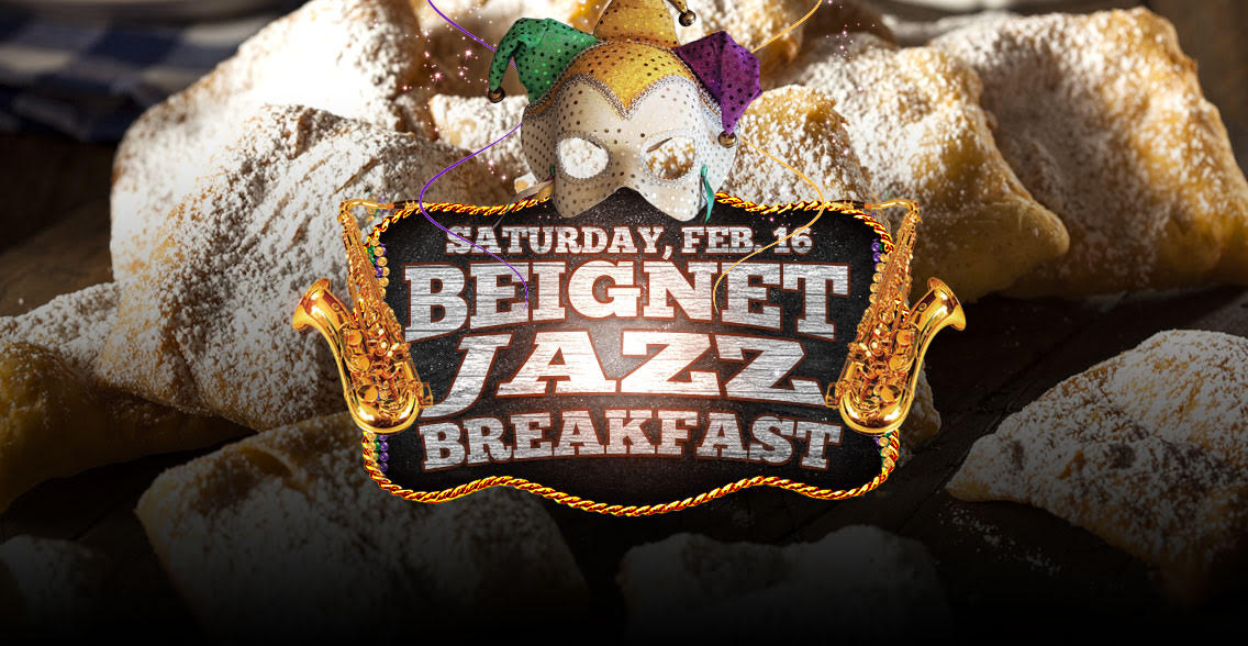 Chuck's Beignet Jazz Breakfast Buffet