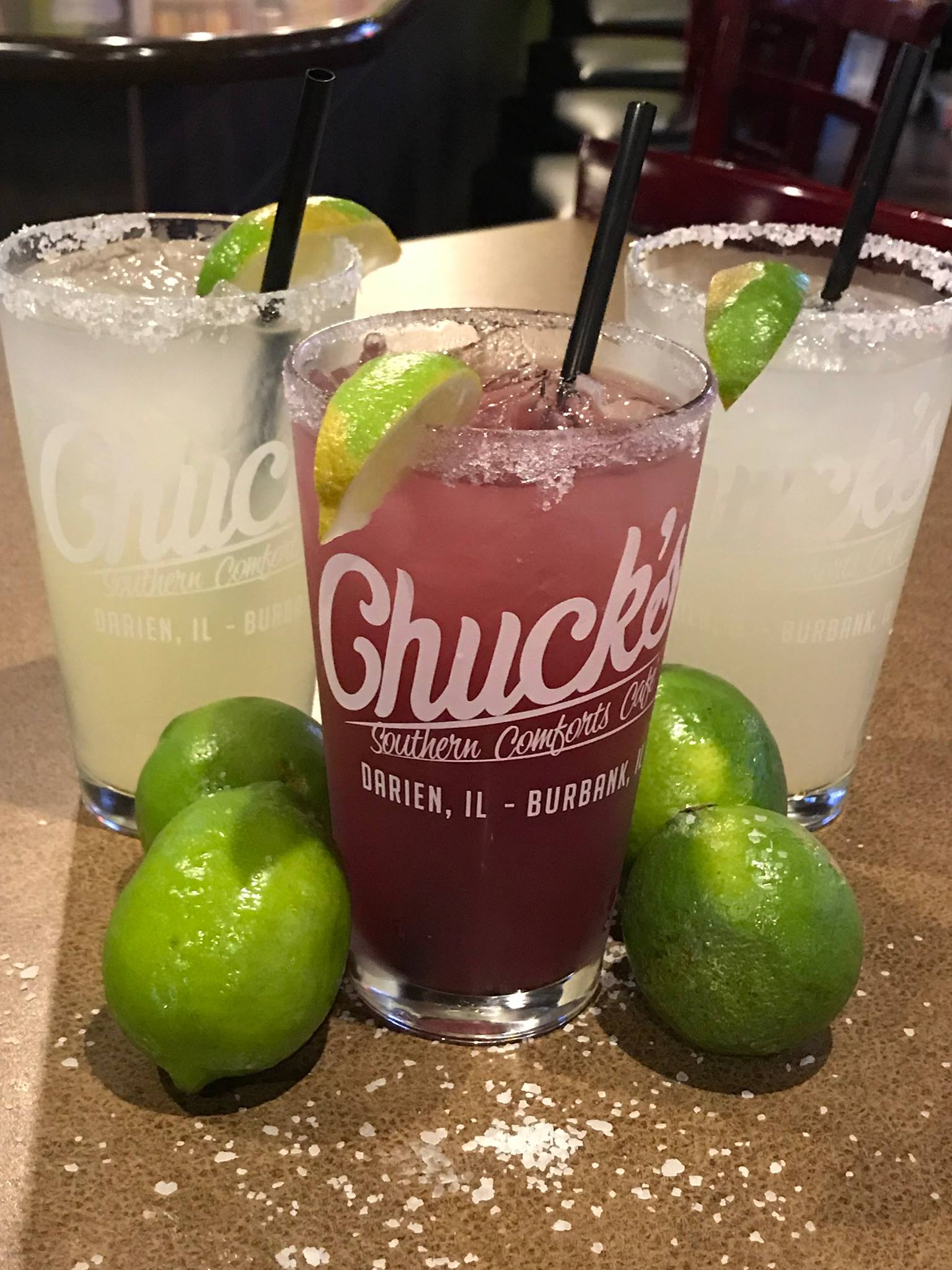 Chuck's National Margarita Day Specials