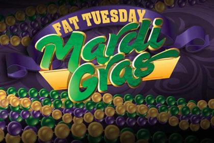 Fat Tuesday Mardi Gras Buffet- Banquet Room