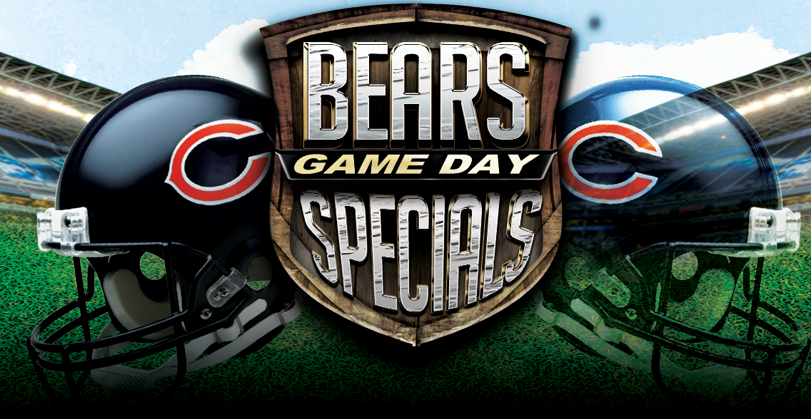 Chuck's Chicago Bears 2019 Game Day Specials