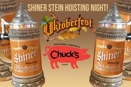 Shiner Stein Hoisting Night: Oktoberfest Kickoff