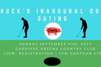 Chuck's Inaugural Golf Outing