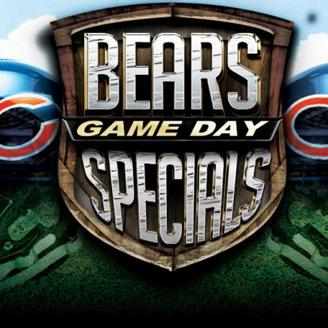 Chicago Bears Game Day Specials