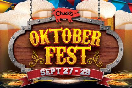 Chuck's Oktoberfest Weekend