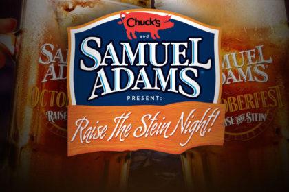 Sam Adams: Raise the Stein Night