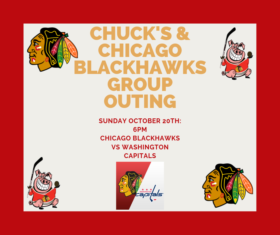 Chuck's & Chicago Blackhawks Group Outing