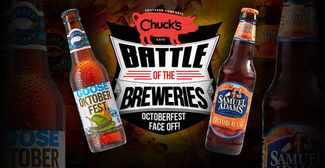 Battle of the Breweries: Oktoberfest Edition