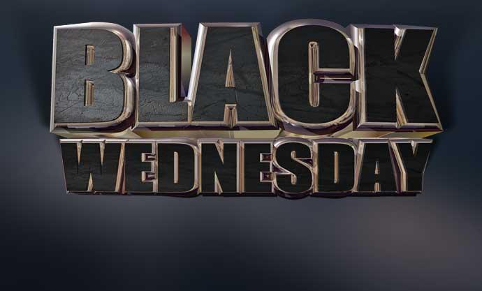 Chuck's Black Wednesday Bash