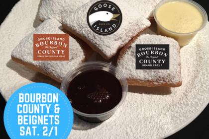 Beignets & Bourbon County Breakfast