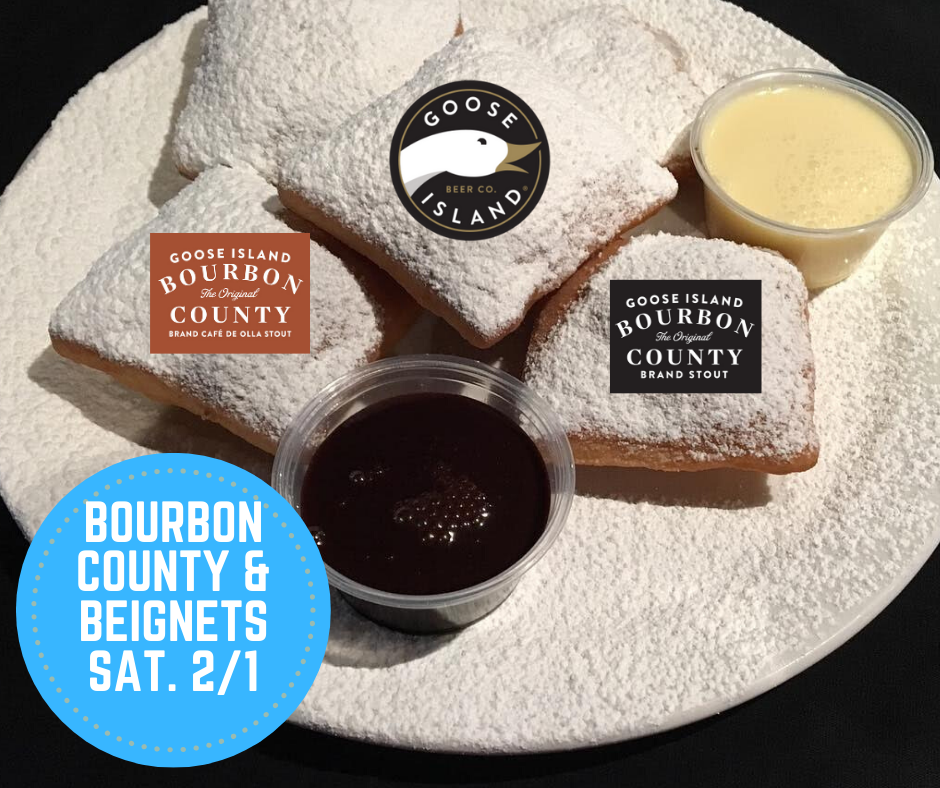 Beignets & Bourbon County Breakfast