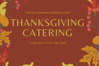 Chuck's Thanksgiving Catering Package