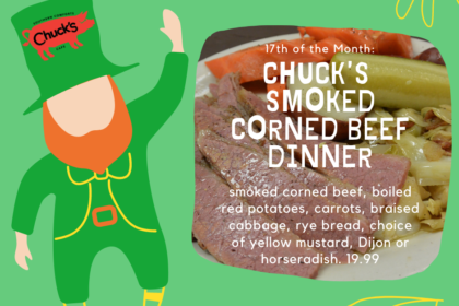 Smoked Corned Beef Dinner Day!