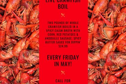 Chuck's Live Crawfish Boil